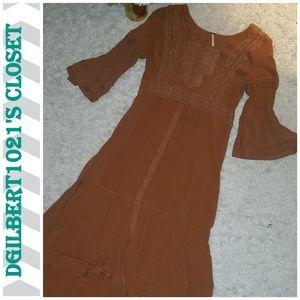 🍦Free People Bohemian Dress